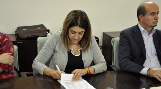 La presidente della Regione Umbria Catiuscia Marini