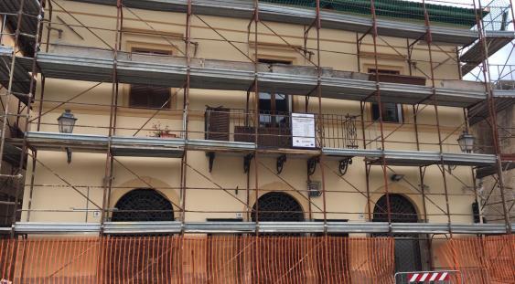 Ricostruzione privata - Cantiere