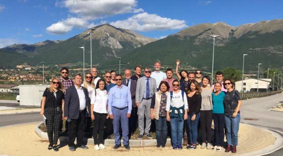 Norcia: delegazione di rappresentanti del Ministero Sviluppo e PA (MDRAP) della Romania, di funzionari della Banca Mondiale e dell'USR-Umbria