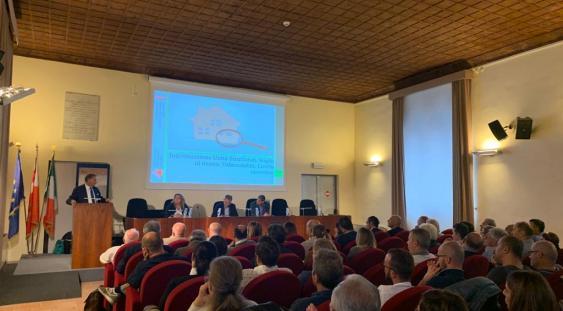 Foligno, sala conferenze palazzo Trinci. Un momento dell'incontro.