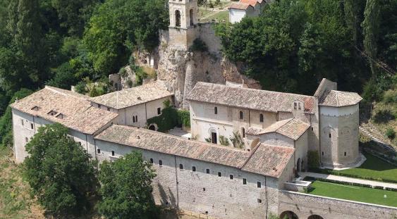 Abbazia S. Eutizio - Preci prima degli eventi sismici del 2016