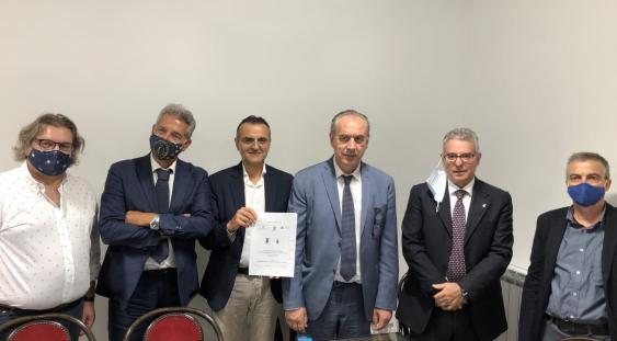 Norcia, sede USR-Umbria: firmatari del protocollo per la ricostruzione del polo scolastico